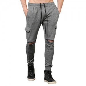 Skult By Shahid Kapoor Men's Poly Cotton Joggers