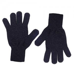 Black Woolen Gloves