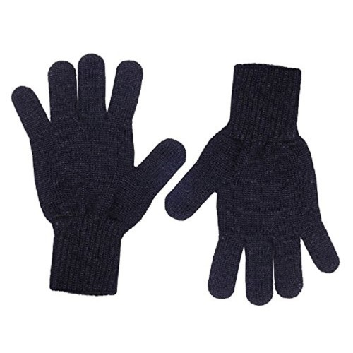 Black Woolen Gloves