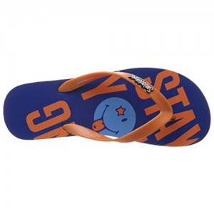 Smiley Men's Stay Young Flip EVA Hawaii House Slippers