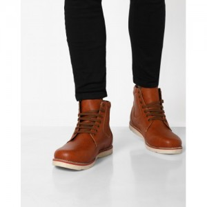 aab0a30624f Buy latest Men's Boots from AJIO online in India - Top Collection at ...