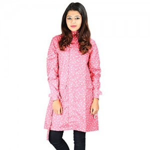 Versalis PInk Polka Dot Raincoat