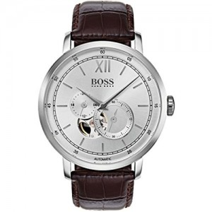 Hugo Boss Classic Signature Brown Leather Analogue Watch