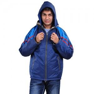 New-Era Blue Polyester Jacket