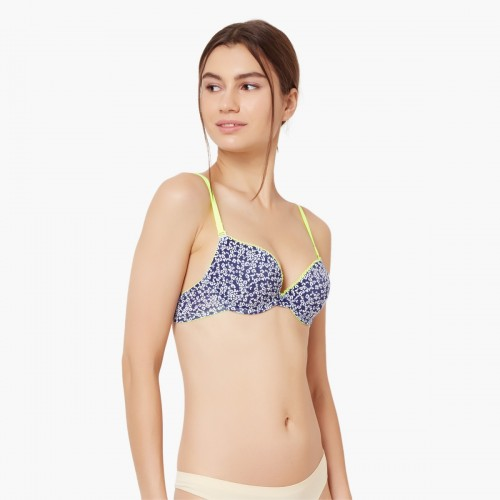 price reduced pretty cheap factory outlet Buy JOCKEY Pop Colour Wired Push-Up Bra online | Looksgud.in