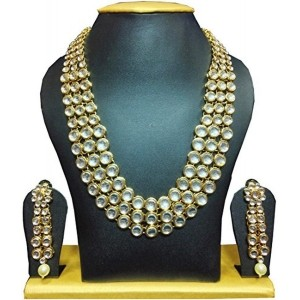 Shining Diva Anushka Sharma Bollywood Inspired Kundan Necklace Set