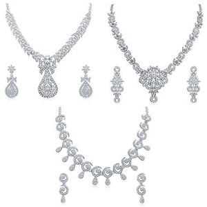 Sukkhi Exclusive 3 Piece Necklace Set Combo for Women