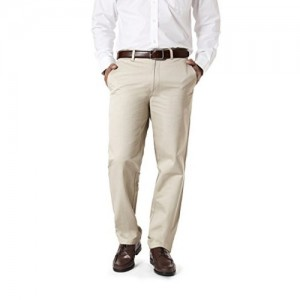 Modo Cream Regular Fit Cotton Formal Trousers