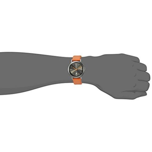 Ted Baker Men's 'CONNOR' Quartz Brown Leather Dress Watch (10031504)