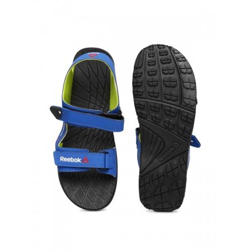 cee8bdb06e8893 Buy Reebok Men Blue Chrome Rider Sports Sandals online