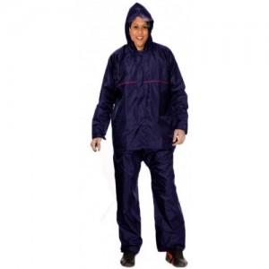 La Polo Blue PU Solid Women's Raincoat