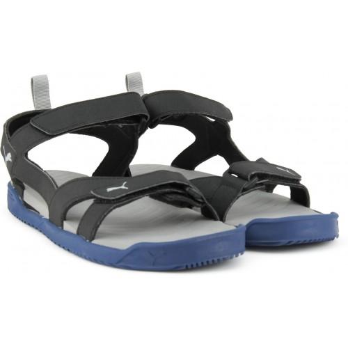 06444fe9eaa7 Buy Puma Men TRUE BLUE-Puma Black Sandals online