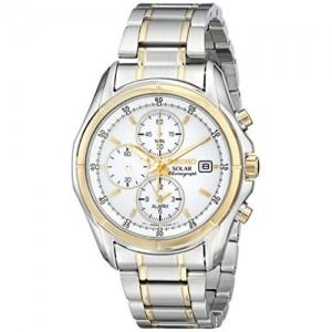 Seiko Men's SSC002 Two-Tone Stainless Steel Bracelet Watch