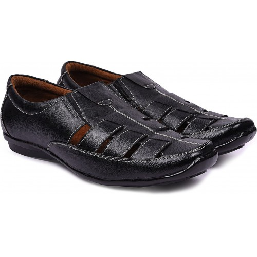 3885205e5d0dd9 Buy Andrew Scott Men Black Sandals online