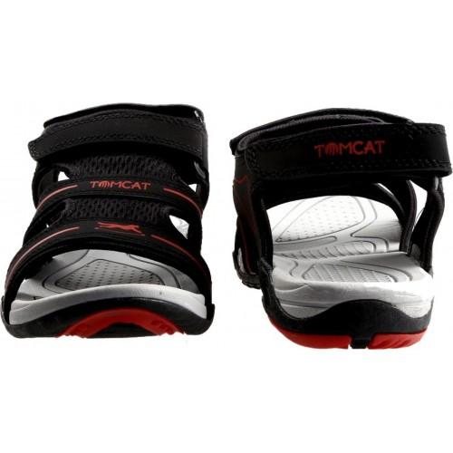 Tomcat Men Black Sports Sandals