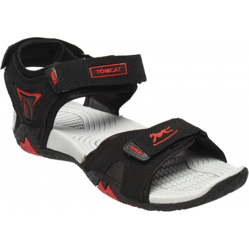 Tomcat Men BlkRed Sandals