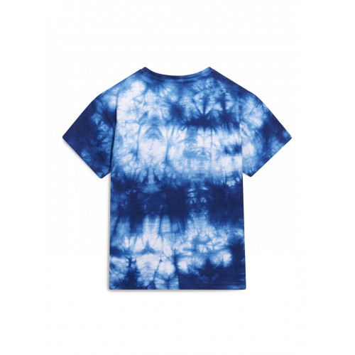 Next Boys Blue & White Dyed Round Neck T-shirt