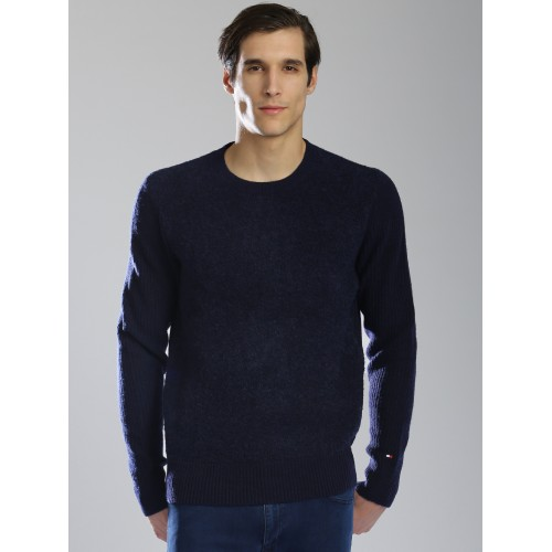 Tommy Hilfiger Men Navy Sweater