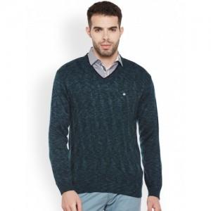 Duke Men Green Sweater
