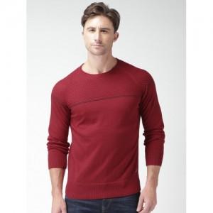 Mast & Harbour Maroon Sweater
