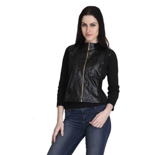Raabta Fashion Full Sleeve Solid Women's Jacket