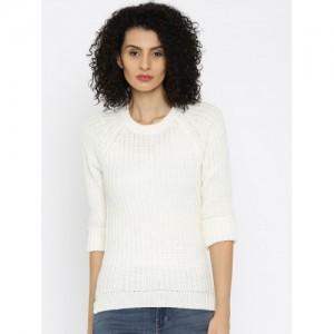 ALCOTT Off-White Sweater