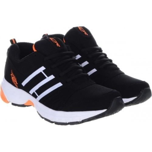 Lancer Black Sports Running Shoes