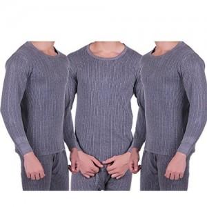 Zimfit Mens Winter Warmer Full Sleeves Ultra Thermal (Upper) 3PC Pack