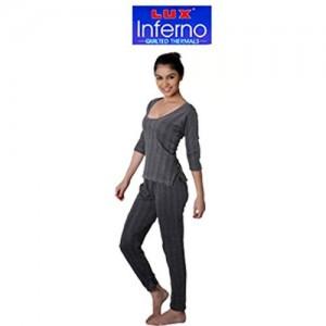 bcd3946c0 Lux Inferno Women s 3 Sleeves- Quarter Inner Thermal Set - Upper   Lower