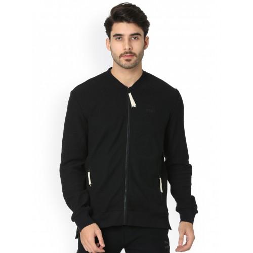 11defef4d9413e Buy One8 x PUMA Men Black Solid Sporty Jacket online