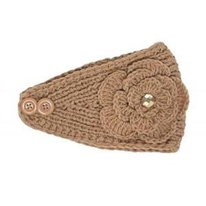 Sparkle Winter Knit Ear Warmer Head Wrap