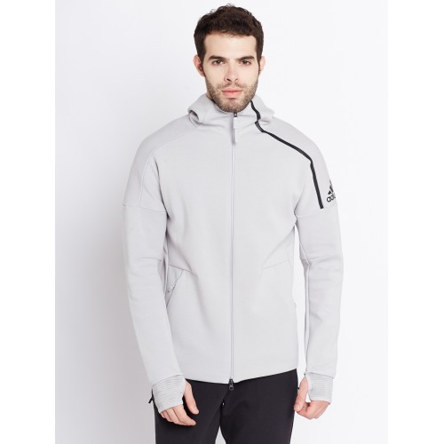 Comprar Adidas Men Grey 19872 ZNE Adidas Pulse Hooded Hooded Sporty Jacket en línea | a71cd16 - antibiotikaamning.website