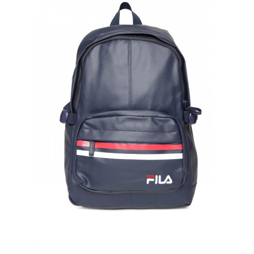1ba1273acd48 Buy FILA Unisex Navy Marko Laptop Backpack online