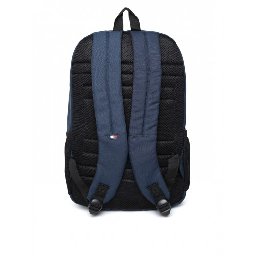 c6390b8f5 Buy Tommy Hilfiger Unisex Navy   Red Colourblocked Backpack online ...