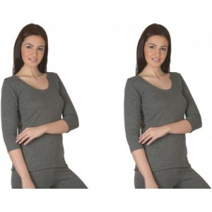 La Melodia Diva Thermals Pack of 2 Women's Top