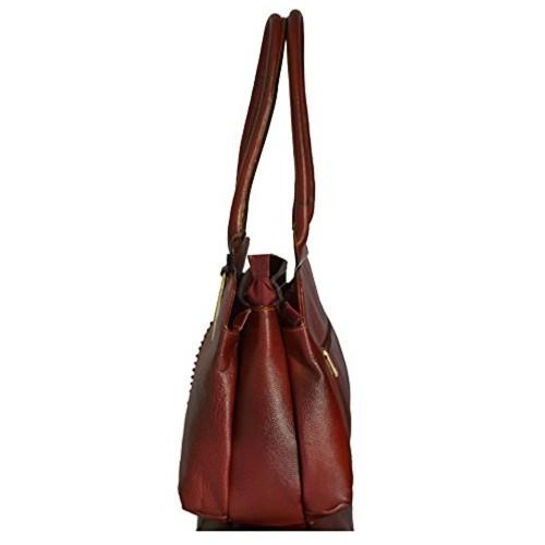 Pinkloom Large Capacity Leather Shoulder Bags For Women Handbags Pure Bag