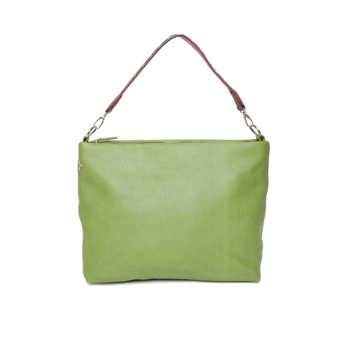 Baggit Green Solid Shoulder Bag