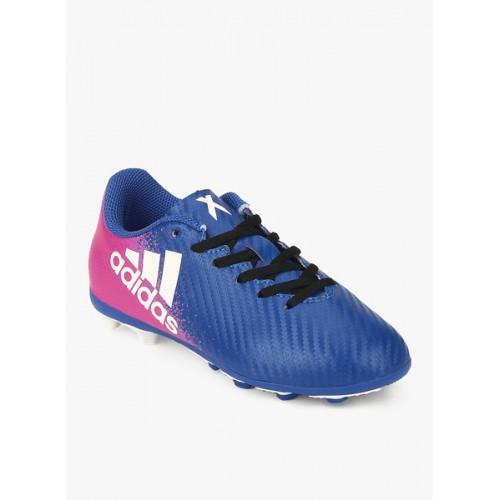 best place best shop best sellers Buy Adidas X 16.4 Fxg J Blue Football Shoes online | Looksgud.in