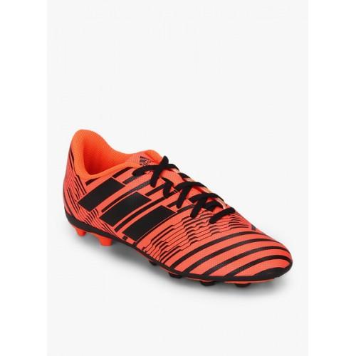 97cccf1c76ef Buy Adidas Nemeziz 17.4 Fxg J Orange Football Shoes online   Looksgud.in