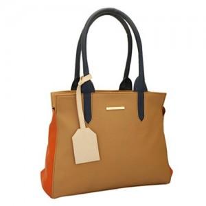 Lapis O Lupo Mode Women's Handbag (Beige)