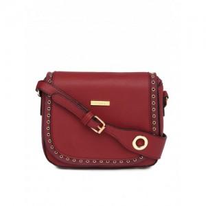 ToniQ Maroon Shoulder Bag