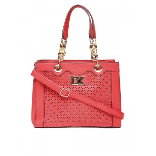 Diana Korr Red PU Hand-held Bag