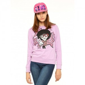Vvoguish Full Sleeve Printed Women's Sweatshirt