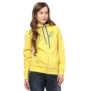 Wake Up Competition Womens Fleece Sweatshirt (Gs-14-101-Yellow-L _Yellow _Large)