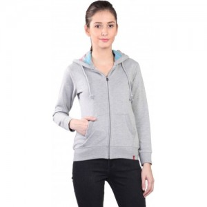 Wake Up Competition Full Sleeve Solid Women's Sweatshirt