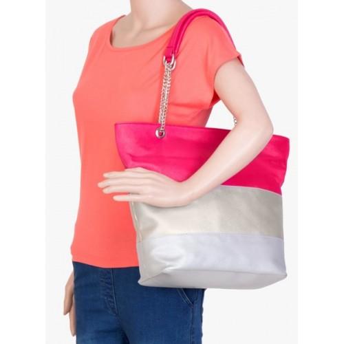 ADISA Black Pu Handbag