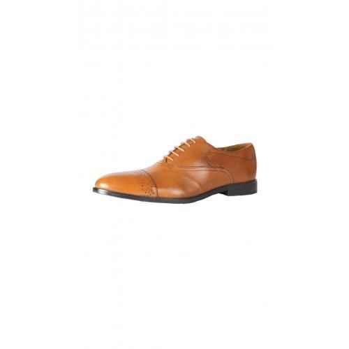 8fd0dae4aac Buy Van Heusen Brown Leather Formal Shoes online