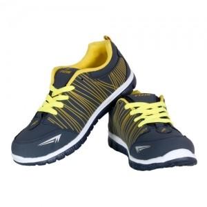 FIZIK Mens Yellow Sports Shoe NavyBlue