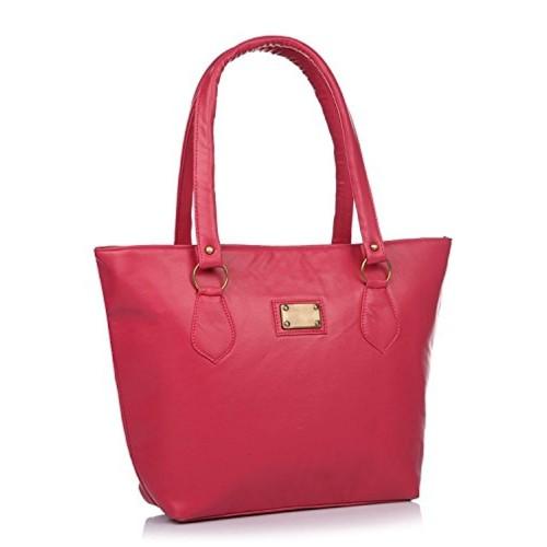 Buy Flora Premium Pu Leather Women S Handbag Pink Color Online