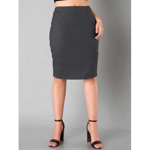 2aa776b770 FabAlley Grey Pencil Skirt; FabAlley Grey Pencil Skirt ...
